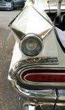 Lâmpada de cauda clássica do carro fotografia de stock royalty free