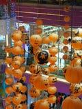 Lâmpada de Dia das Bruxas no teto Imagens de Stock Royalty Free