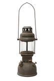Lâmpada de furacão velha e oxidada Foto de Stock Royalty Free