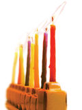 Lâmpada de Hanukkah Fotografia de Stock Royalty Free