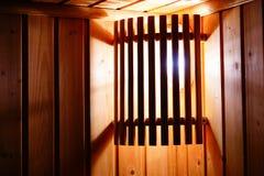 Lâmpada de madeira Imagens de Stock Royalty Free