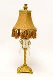 Lâmpada de mesa antiga do Victorian foto de stock royalty free