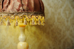 Lâmpada de mesa a céu aberto Imagem de Stock Royalty Free