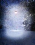 Lâmpada de Narnia ilustração stock
