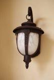 lâmpada de parede Fotografia de Stock
