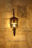 Lâmpada de parede Imagens de Stock