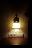 Lâmpada de parede Foto de Stock