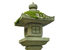 Lâmpada de pedra japonesa imagem de stock