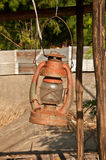 Lâmpada de petróleo Foto de Stock Royalty Free