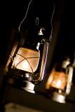 Lâmpada de petróleo Fotografia de Stock
