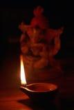 Lâmpada de petróleo indiana Imagem de Stock Royalty Free