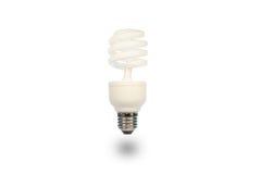 Lâmpada de poupança de energia Fotos de Stock Royalty Free