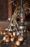 Lâmpada de querosene Fotos de Stock Royalty Free