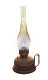 Lâmpada de querosene velha foto de stock royalty free