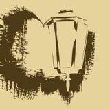 Lâmpada de rua Imagem de Stock Royalty Free