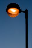 Lâmpada de rua. imagem de stock