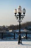 Lâmpada de rua bonita Imagem de Stock Royalty Free