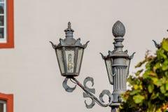 Lâmpada de rua bonita Fotos de Stock