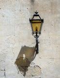 Lâmpada de rua com sombra Fotos de Stock