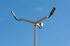 Lâmpada de rua do diodo emissor de luz Fotografia de Stock Royalty Free