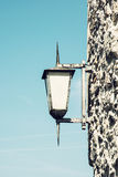 Lâmpada de rua do vintage Fotografia de Stock