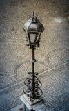 Lâmpada de rua do vintage em Europa Imagens de Stock
