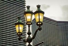 Lâmpada de rua elétrica, Las Vegas Fotografia de Stock Royalty Free