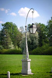Lâmpada de rua no console de Elagin Fotografia de Stock