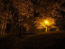 Lâmpada de rua no crepúsculo fotografia de stock royalty free