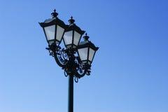 Lâmpada de rua velha Foto de Stock Royalty Free