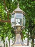 Lâmpada de rua velha Fotografia de Stock