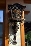 A lâmpada de rua velha Imagem de Stock