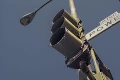 Lâmpada de sinal Fotos de Stock