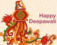 Lâmpada de suspensão de Diwali Foto de Stock