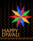 Lâmpada de suspensão decorada para a celebração de Diwali Imagens de Stock Royalty Free