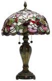 Lâmpada de tabela de vidro de Tiffany Fotos de Stock