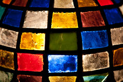 Lâmpada de Tiffany Foto de Stock