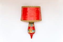 Lâmpada decorativa foto de stock