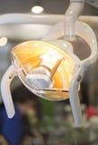 Lâmpada dental foto de stock