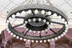 Lâmpada do candelabro ou do teto, Kuala Lumpur, Malásia Foto de Stock