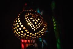 Lâmpada do coco, lembrança do mar de Tailândia fotografia de stock royalty free