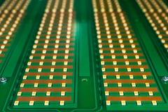 Lâmpada do diodo emissor de luz da placa Foto de Stock