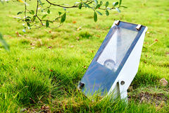 Lâmpada do gramado Fotografia de Stock Royalty Free