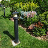Lâmpada do jardim Imagem de Stock Royalty Free