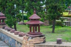 Lâmpada do jardim Fotografia de Stock Royalty Free