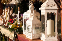 Lâmpada do Natal Imagem de Stock