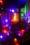 Lâmpada do Natal Fotos de Stock