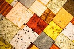 Lâmpada do teto, tartã Imagens de Stock