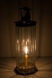 Lâmpada do vidro de Decagon Imagem de Stock Royalty Free