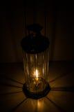Lâmpada do vidro de Decagon Imagens de Stock Royalty Free